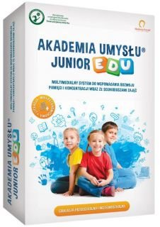- Akademia Umysłu Junior EDU. DVD-Rom